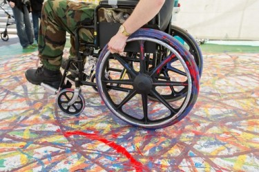 Wheelchair Painting